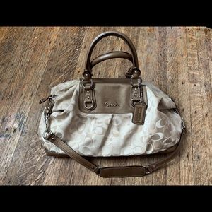 Coach tote and shoulder bag